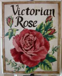 Victorian Rose Wall Plaque